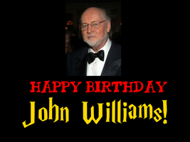 Happy Birthday John Williams! by Nolan2001
