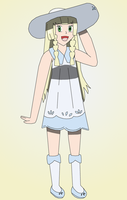 Lillie by PokemonXYLover1998
