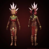 Low resolution Diablo III Witch doctor Masked by Azraele