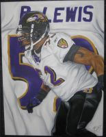 Ray Lewis by dorseyart