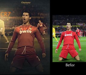 cr7 befor and after by YasserCharisma