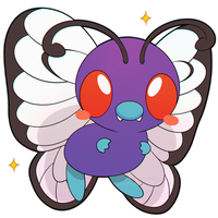 ChibiDex: #012 Butterfree