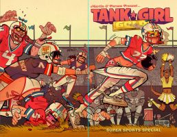 Tank Girl Gold #2 Cover by blitzcadet