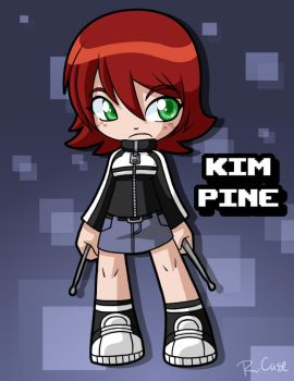 Kim Pine by rongs1234