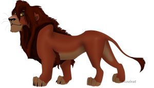 male lion by coolrat