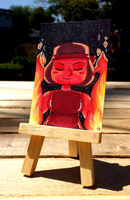+Ruby ACEO - Steven Universe+ by madhouse-arts