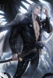 Sephiroth suit by sakimichan