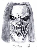 mick thomson by autobot0d41r