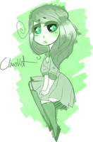 {Scribble comm Katherine} by Claw-kit