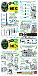 How to draw BOXES tutorial by STUDIOBLINKTWICE