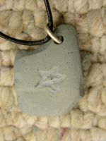 Star Clay Necklace by xcmer