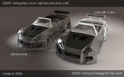 s2000 tuning free car by 3DEricDesign