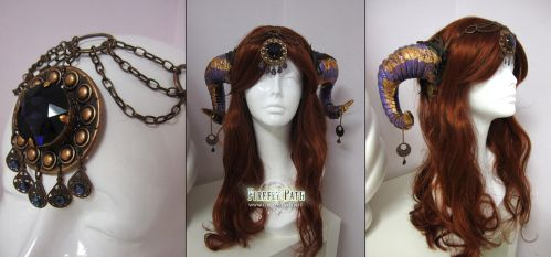Ancient Aries Headdress by Firefly-Path