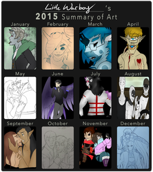 2015 Art Summary by br00d-mother