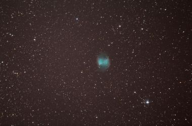 One more test series on the Dumbbell Nebula by VydorScope