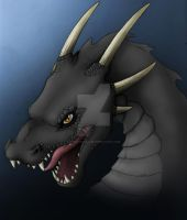 Dragon - black version by KTechnicolour