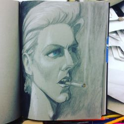 Bowie by charlando