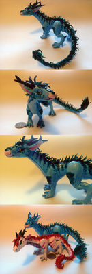Dragon Sculpture 2 by TakenFlyght