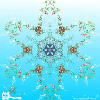 Winterflake by CatSpaceDesign