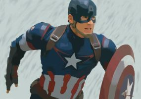 Captain America by Darrixhuntress