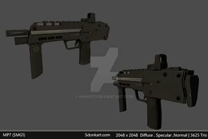 SMG: Half Life 2: Enhancement Mod by kwant11