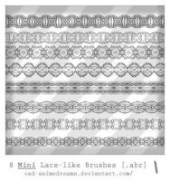 Mini Lace brushes by CAD-animedreams