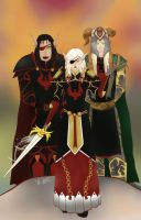 Commission: Blood Knights by Musing-Zero