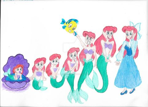 Ariel's timeline by Ms-Sharazar
