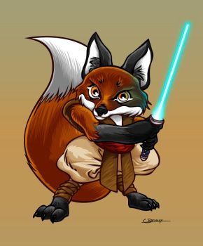 Jedi fox by Sgrum