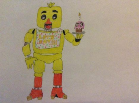 Chica. by Coffewithsprinkles