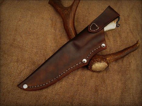 Winter Hunter sheath by PrzemoSremo