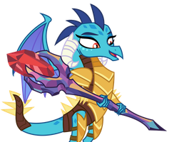 Vector - Dragon Lord Ember by SketchMCreations