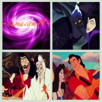+Disney Villains Collage+ by camacam11