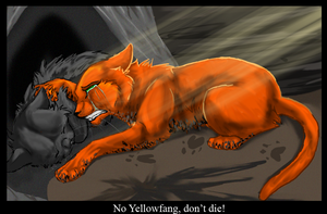 Yellowfang's death by sparktail