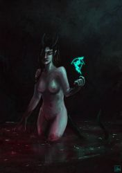 Demoness by Aon616