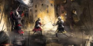 Medieval battle by VitoSs