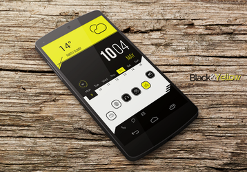 BlackYellow Theme by marcco23