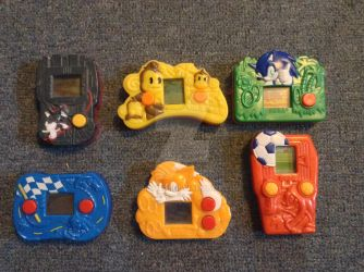 Sega LCD Happy Meal Games by Terrific21