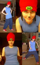 Halloween 09: Parappa by SillyJonna