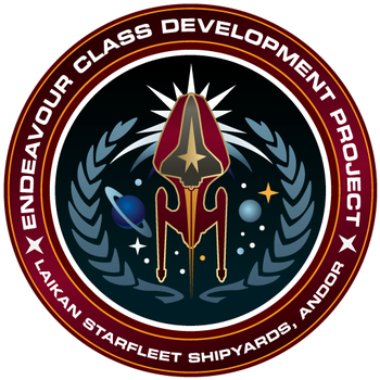 Starfleet Patch - Endeavour Class Development by thomasthecat
