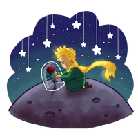 The Little Prince by BlueOrca2000