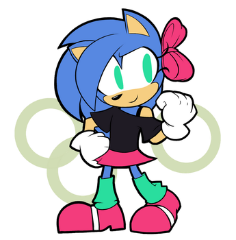 Patreon - Classic Sonic R63 by Frost-Lock