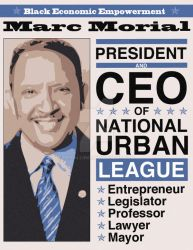 Marc Morial poster by MetalLink