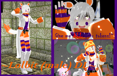 ~Lolbit~ (Male) MMD Download FIX Update by NeyMarlon