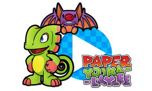 Paper Yooka-Laylee by Noctalaty