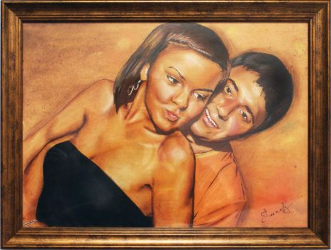 Asian couple by ColourOfLife