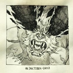 Inktober Day 2 by HJeojeo