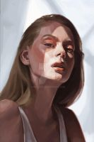 Portrait study by jhndlcrz