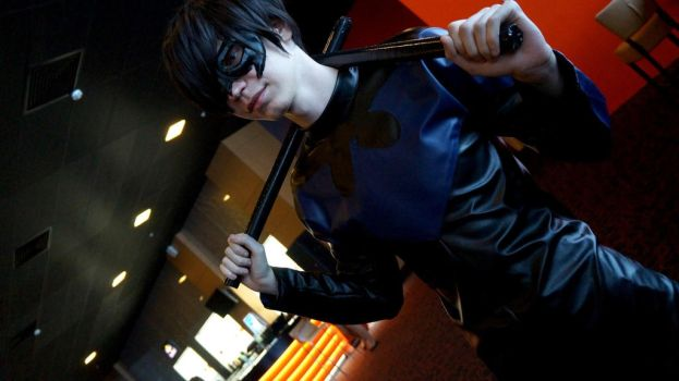 Nightwing - cosplay by xVIDx