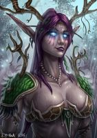 Night Elf Druid by Samo94